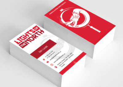 Business-cards - Lights of the north